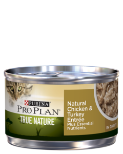 Purina Pro Plan True Nature Natural Chicken & Turkey Entrée In Gravy Wet Cat Food