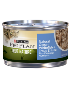 Purina Pro Plan True Nature Natural Ocean Whitefish & Trout Entrée In Sauce Wet Cat Food