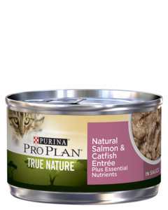 Purina Pro Plan True Nature Natural Salmon & Catfish Entrée In Sauce Wet Cat Food
