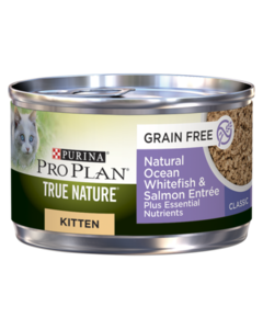 Pro Plan True Nature Kitten Ocean Whitefish & Salmon Cat Food