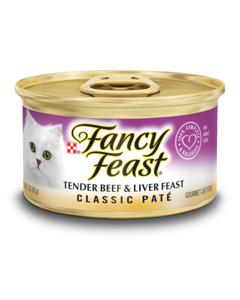 Fancy Feast Tender Beef and Liver