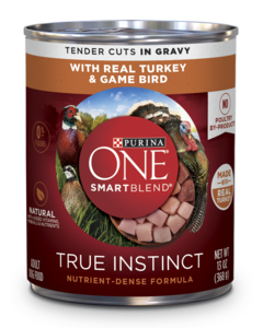 True-Instinct-Real-Turkey-Game-Bird-Wet-Dog-Food-can