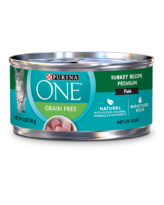 Purina ONE Grain Free Turkey Wet Cat Food