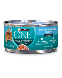 Purina ONE True Instincts Chicken & Salmon Wet Cat Food
