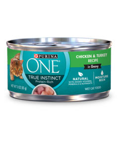 Purina ONE True Instincts Chicken & Turkey Wet Cat Food