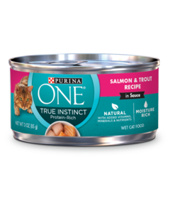 Purina ONE True Instincts Salmon & Trout Wet Cat Food
