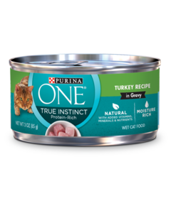 Purina ONE True Instinct Turkey Wet Cat Food