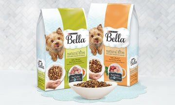 Bella Natural Dry Dog Food CTA