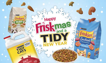 Merry Friskmas and a Tidy New Year