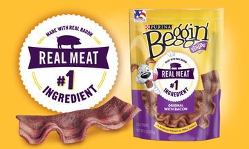 BEGGIN' STRIPS® DOG TREATS CTA