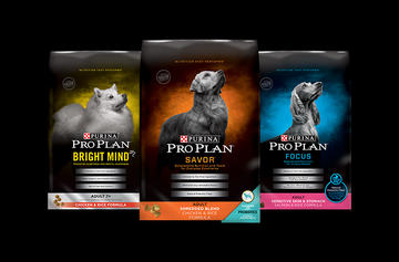 Pro Plan DRy Dog Food Family Shot