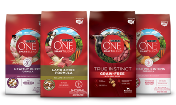 image of purina one dry dog food