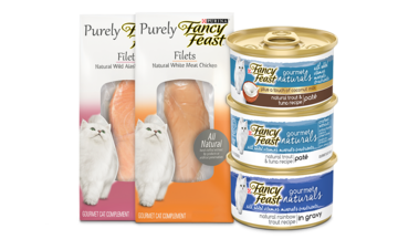 Fancy Feast natural gourmet cat food
