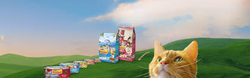 Friskies All Food hero