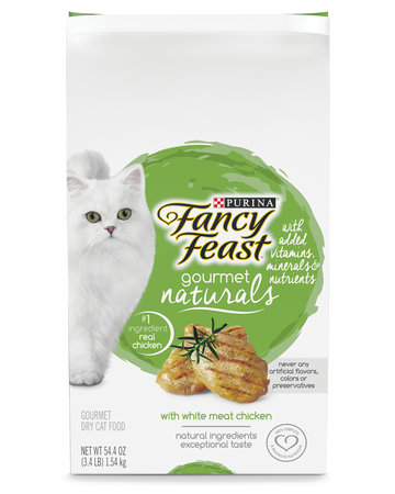 Gourmet Naturals White Meat Chicken Dry Cat Food with Added Vitamins, Minerals and Nutrients