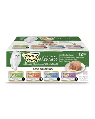 Fancy Feast Gourmet naturals Pate Collection