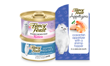 Fancy Feast Grain Free CTA