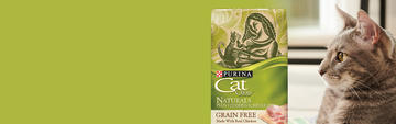 Cat Chow Homepage Hero - Grain Free