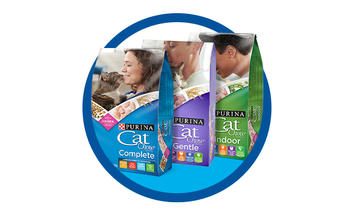 Our entire line of Cat Chow recipes is made with real meat for a delicious taste that your cat will go crazy for.