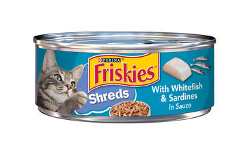 Friskies Whitefish Shreds Can reviews cats love it
