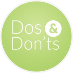 dos and don'ts graphic