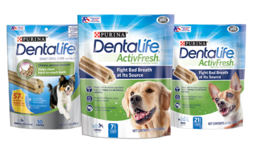Dentalife dog product family image