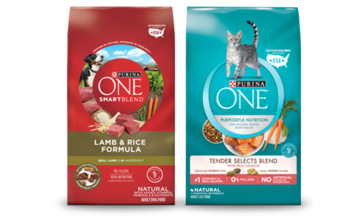 Purina One 28 day challenge bags CTA