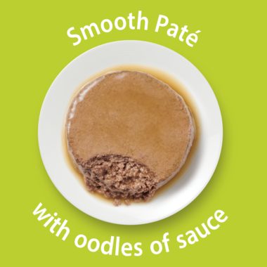 Smooth Pate with oodles of sauce