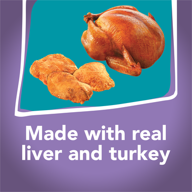 Made with real liver and turkey