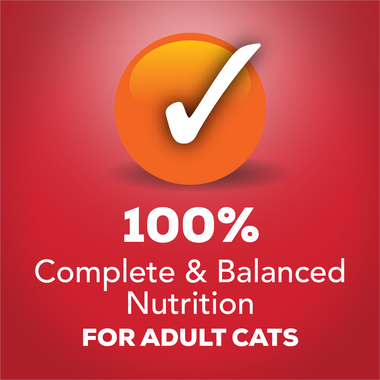 100% complete and balanced nutrition