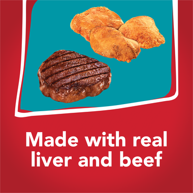 Made with real liver and beef