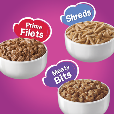 Prime Filets shreds and meaty bites