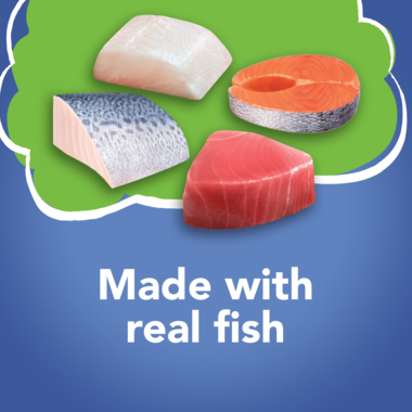 made with real fish