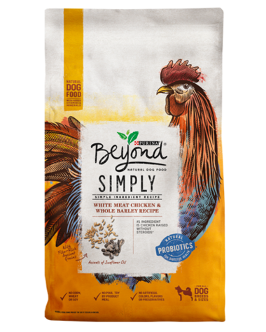 Purina Beyond Simply White Meat Chicken & Whole Barley Recipe