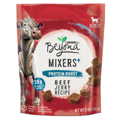 Beyond Dog Mixers+ Protein Boost Beef Jerky Recipe