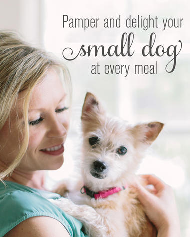 pamper and delight your small dog at every meal