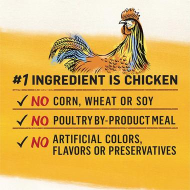 #1 ingredient is chicken