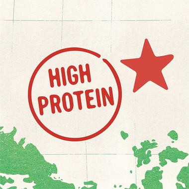 high protein with star