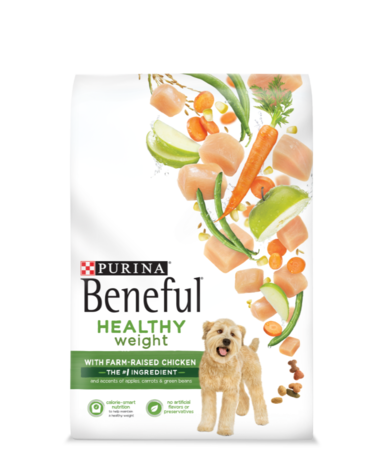 Beneful Healthy Weight chicken package