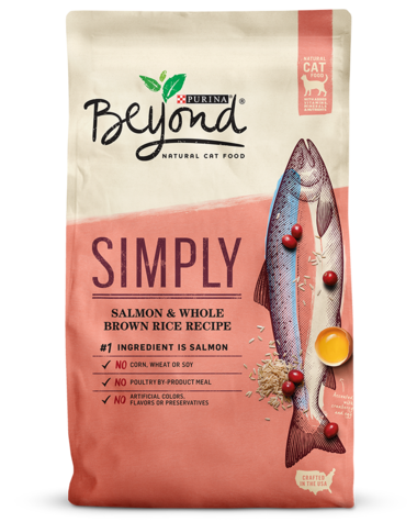 Purina Beyond Cat Food >> Beyond Simply Salmon And Brown Rice Natural Dry Cat Food