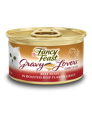 Fancy Feast Gravy Lovers Roasted Beef Flavored Gravy