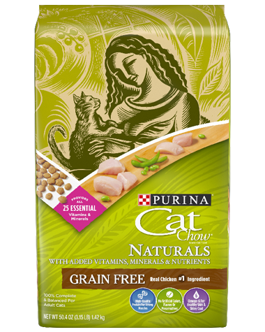 Cat Chow Grain Free Front