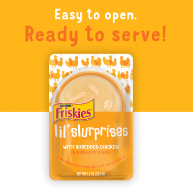 Easy to open ready to serve