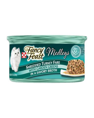 Fancy Feast Shredded Turkey Fare