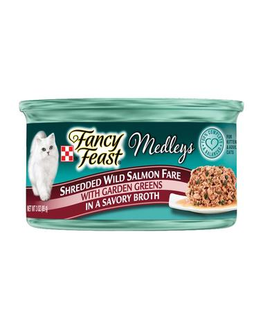 Fancy Feast Shredded Wild Salmon