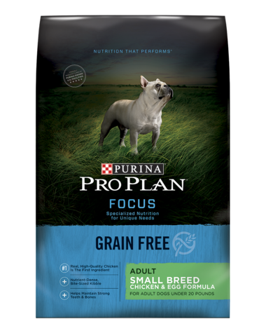 Pro Plan Focus Grain Free Small Breed Chicken Amp Egg Dry