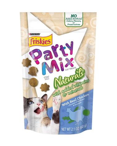 Party Mix Naturals with Real Chicken