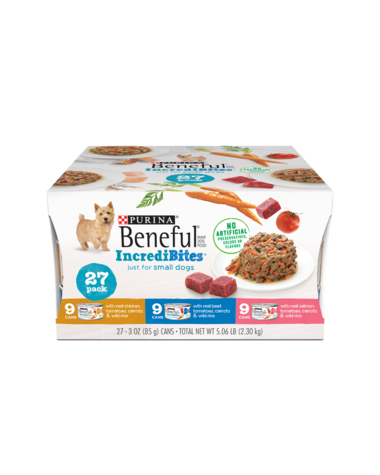 Beneful IncrediBites Wet Dog Food Variety 27 Pack