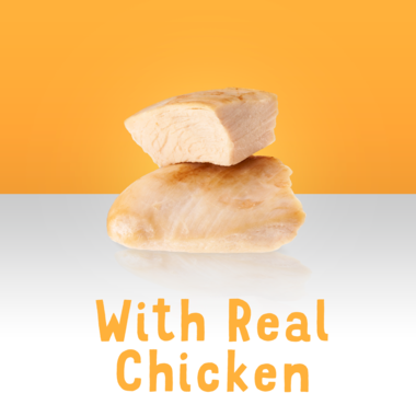 Made with Real Chicken