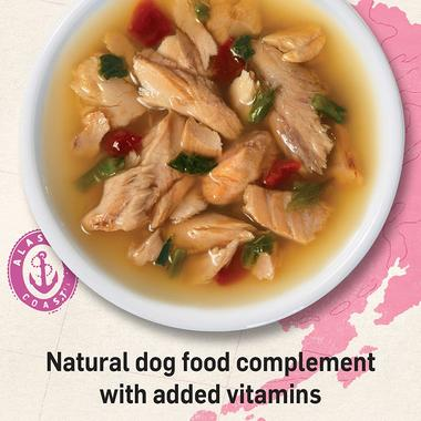 Natural-dog-food-complement-with-added-vitamins